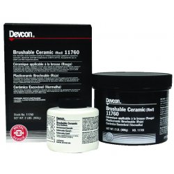 Devcon - 11760 - 2lb Brushable Ceramiccomp Replac, Ea