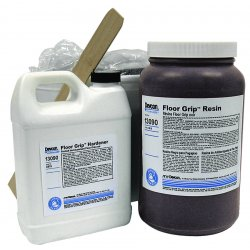 Devcon - 13090 - 25lb Floor Grip Anti-skid Epoxy Floor, Ea