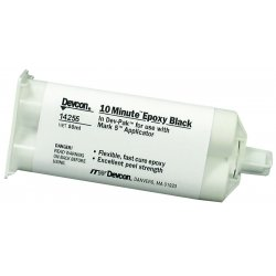 Devcon - 14255 - Dv 10 Minute Epoxy Black50 Ml
