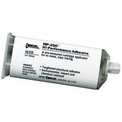Devcon - 14315 - HP-250 Chemical Resistant Structural Adhesive Epoxy, 50 ml Cartridge