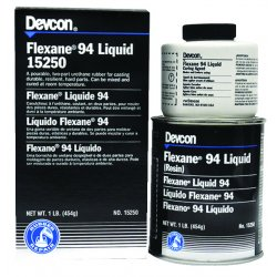 Devcon - 15260 - Flexane 94 Liquid, Urethane, 10Lb Kit, Blk