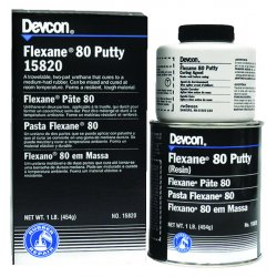 Devcon - 15850 - 4lb.can Flexane 80 Puttyurethane Ru, Ea