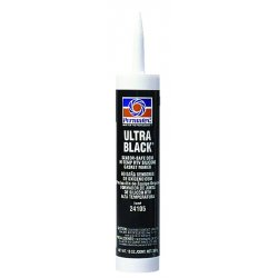 Permatex - 24105 - Ultra Black RTV Silicone Gasket Maker, 13 oz. Cartridge