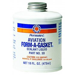 Permatex - 80017 - Aviation Form-a-gasket #3 Sealant 16 Oz Bottle