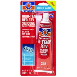 Permatex - 81160 - #26 High-temp Rtv Silicone Gasket Maker 3 Oz