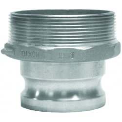 Dixon Valve - 4030-F-AL - Aluminum Adapter, Coupling Type F, Male Adapter x MNPT Connection Type
