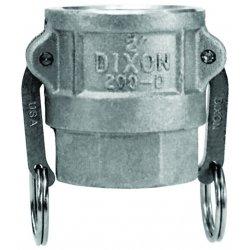 Dixon Valve - 600-D-AL - Coupler, Ea
