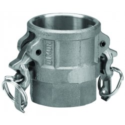 Dixon Valve - AD600 - 6 Alum Coupler By Female, Ea