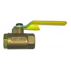 Dixon Valve - BBV50 - 1/2 In Brass Ball Valve, Ea