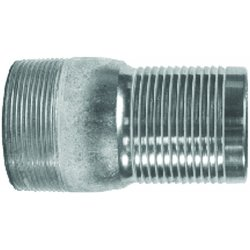 Dixon Valve - BST25 - 2 Brass King Nipples, Ea