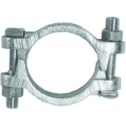 "Dixon Valve - DL350 - Double Bolt Clamp 3 1/4"", Ea"