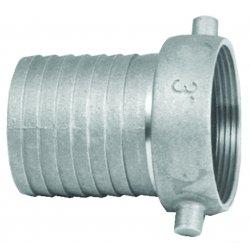 Dixon Valve - FAB250 - 2 1/2 Alum Fem W/ Brass, Ea