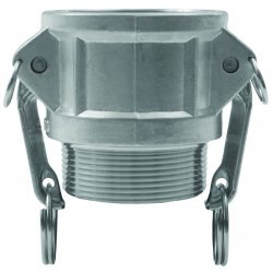 "Dixon Valve - G100-B-AL - 1"" Alum Global Female Coupler X"