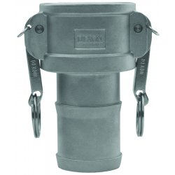 "Dixon Valve - G250-C-AL - 2 1/2"" Aluminum Type C Global Coupler"