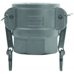 "Dixon Valve - G250-D-AL - 2 1/2"" Aluminum Type D Global Coupler"