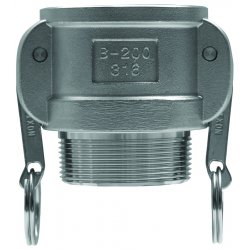 "Dixon Valve - G600-B-SS - 6"" Stainless Global Female Coupler"