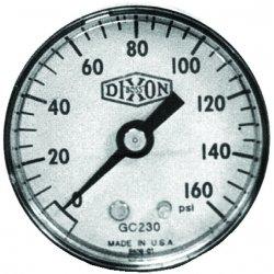 Dixon Valve - GC605 - 1 1/2 Steel Cbm 0-30 Psi, Ea