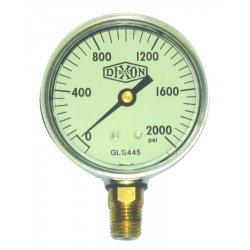 Dixon Valve - GLS415 - 2 1/2 Stnls Lm 0-100 Psi, Ea