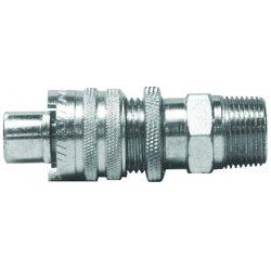 Dixon Valve - QM66 - 1/2 Steel Dixlock Lockin, Ea