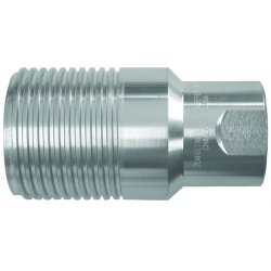 "Dixon Valve - WS10F10 - 1-1/4"" Steel Plug 1-1/4-11.5 Nptf Thread Psi 345"