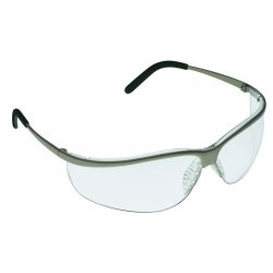 AO Safety - 11345-10000-20 - Metaliks Sport Brushed Nickel Frame In/out Lens