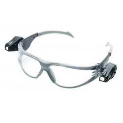 AO Safety - 11356-00000-10 - Light Safety Glasses Black Temples Clear Af Lens