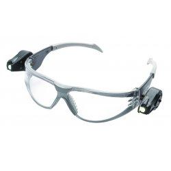AO Safety - 11356-00000-10 - Light Safety Glasses Black Temples Clear Af Lens