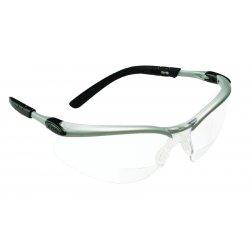 AO Safety - 11378-00000-20 - Bx Reader Silver/black Frame Gray Lens 2.0 Diopt