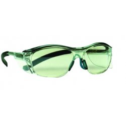 AO Safety - 11411-00000-20 - Nuvo Translucent Gray Brow Gray Tep Clear Lens