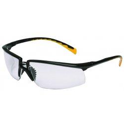 AO Safety - 12262-00000-20 - Privo Black Frame/orangeaccent Gray Af Lens
