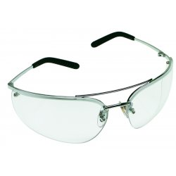 AO Safety - 15170-10000-20 - Metaliks Sil Metal Temple Clear Lens