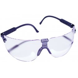 AO Safety - 15200-00000-20 - Lexa Metallic Slate Temple Safety Spectacle M