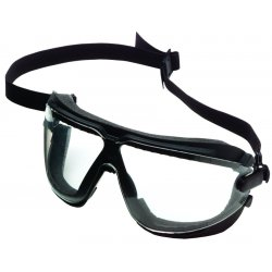 AO Safety - 16618-00000-10 - Gogglegear W/strap Largeclear Lens Std Bridge