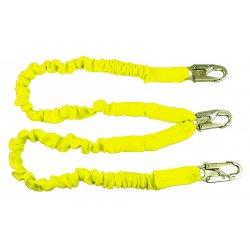 SafeWaze - 4750-0241 - 100% Tie Off Elastic Combination Shock Lanyard