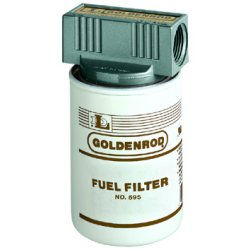 Goldenrod - 595 - 56606 10 Micron Fuel Filter W/top Cap