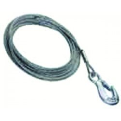 Dutton-Lainson - 6520 - Cable and Hook, 1/4 In x 25 Ft.