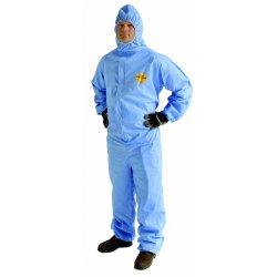 DuPont - P1131SBU-3XL - Prosheild 1 Coverall Blue Zip Ft Ela Wst St Flp, Ea