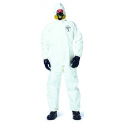 DuPont - SL122B-2XL - Tychem Sl Coverall Zip Ft Storm Flap Att. Socks