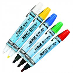ITW Dymon - 44709 - Rinz Off 44 White Actionmarker, Ea