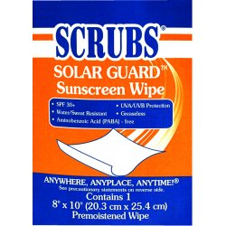 ITW Dymon - 91201 - Dwos Scrubs Sunscreen Towel 1/packet
