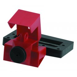 Brady - 65321 - Oversized Breaker Lockout, 480/600, Clamp-On Lockout Type, Polypropylene and Nylon