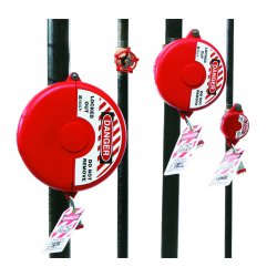 Brady - 65560 - Brady Red Polypropylene Lockout 'DANGER LOCKED OUT DO NOT REMOVE', ( Each )