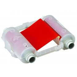 Brady - 76743 - Ribbon Cartridge, Red, 4 In. W, 200 ft. L