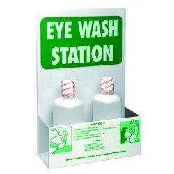 Brady - EW1 - Dwos Eye Wash Station Greenon White Acrylic