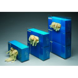 """Brady - GD02 - Glove Dispenser, Clear, Acrylic, Holds: (2) Boxes, 10.93"""" Width"""