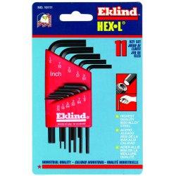 Eklind Tool - 10111 - Eklind Hex-L Wrench - Black - Alloy Steel - Heat Treated, Rust Resistant