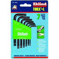 Eklind Tool - 10807 - 7-pc Torx Short Allen Wrench Set W/holder