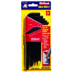 Eklind Tool - 13213 - Eklind Hex-L Long 13213 Wrench - Black - Alloy Steel - Heat Treated, Rust Resistant
