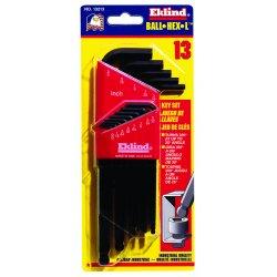Eklind Tool - 13213 - Eklind Hex-L Long 13213 Wrench - Black - Alloy Steel - Heat Treated, Rust Resistant