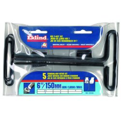"Eklind Tool - 35165 - 6"" 5pz Metric T-handle Hex Key Set"